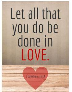 Blameless 1 Cor. 16.14