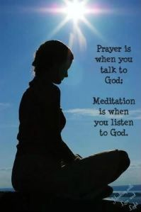 Blameless Prayer and Meditation