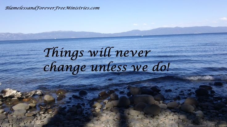 Blameless Things Will Never Change