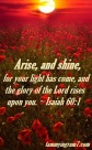 Blameless Isaiah 60.1