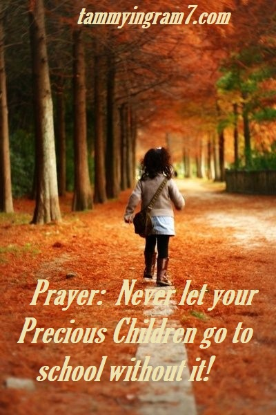 Blameless Children Path Prayer