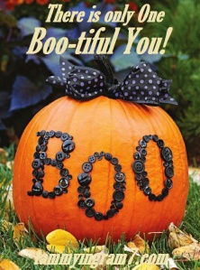 Blameless Boo Pumpkin 7.7