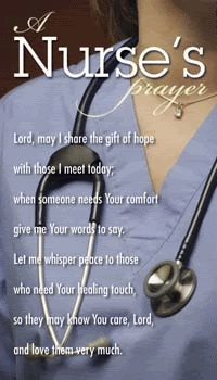 Blameless Nurses Prayer