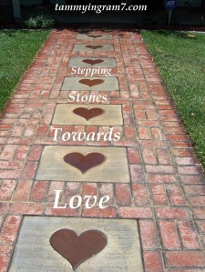 Blameless Stepping Stones Heart 1