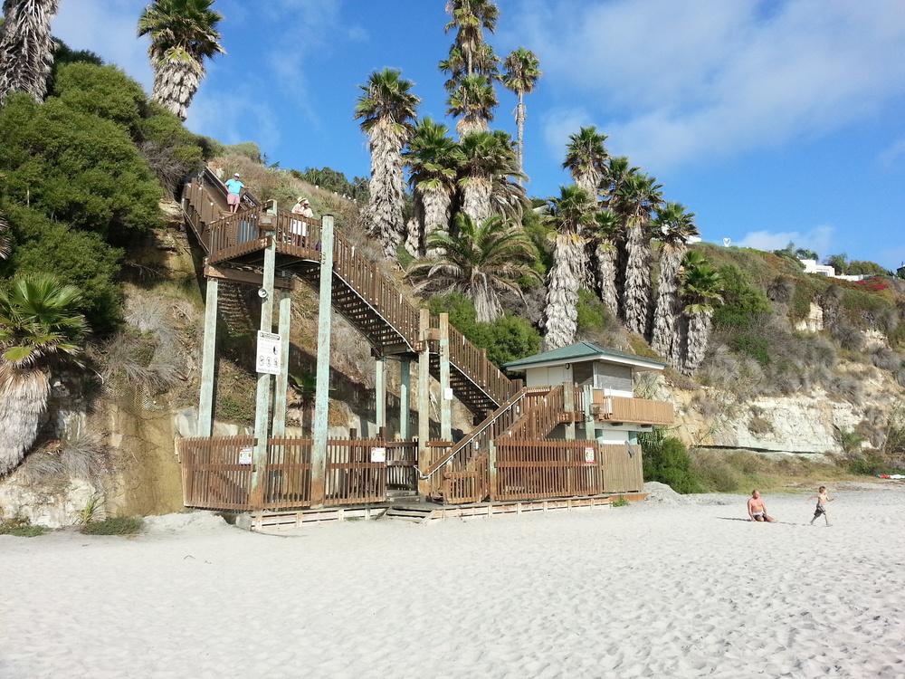 Stairs+at+Swami+Beach+San+Diego
