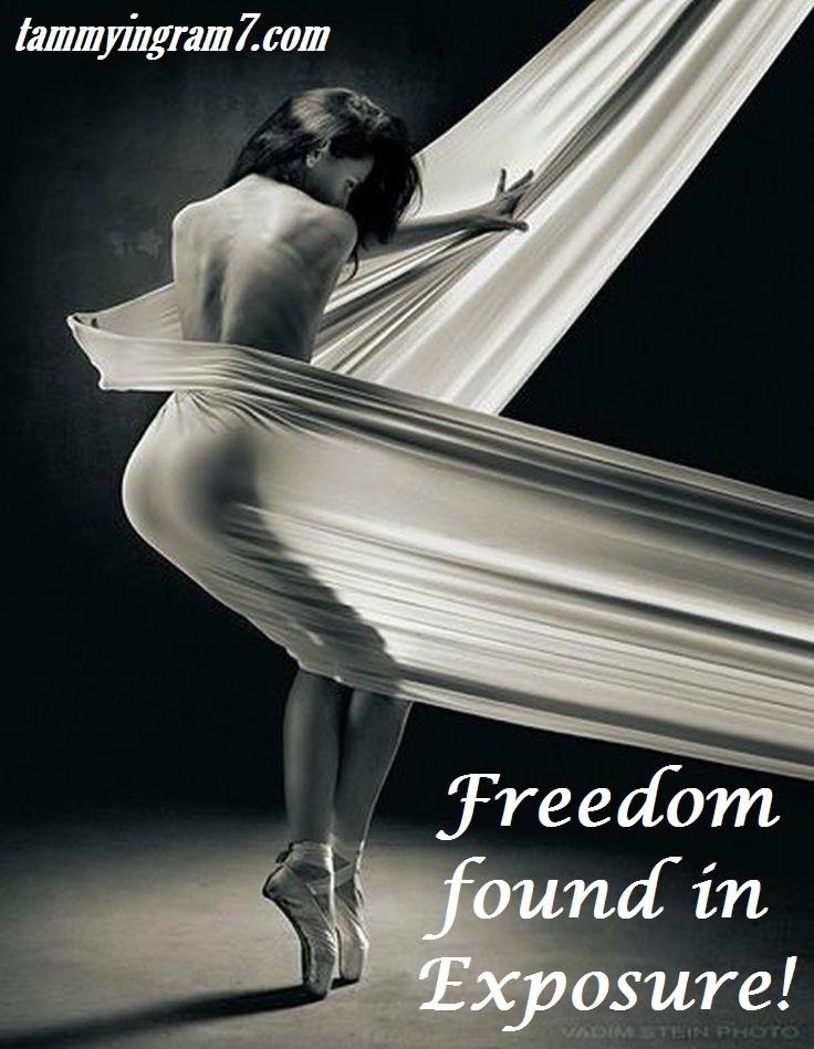 Blameless Freedom Found in Exposure