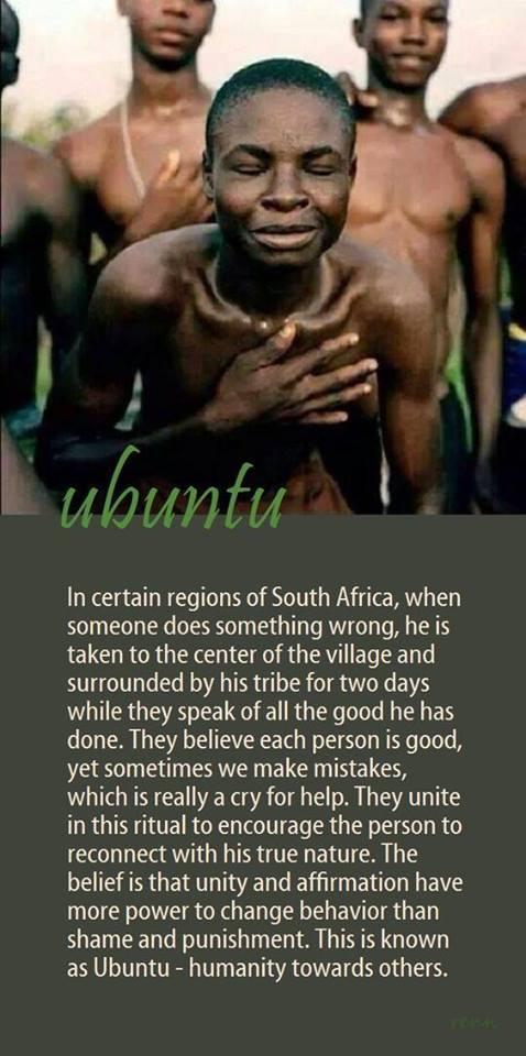 Blameless Africa Ubuntu