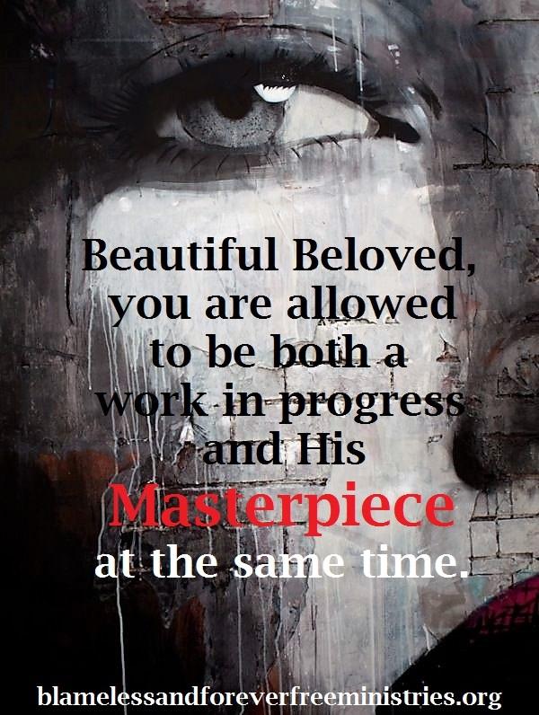 Blameless Masterpiece and Work in progress