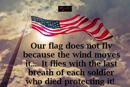 Blameless United States Flag Last Breath