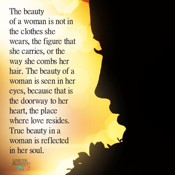 Blameless Beauty of a Woman