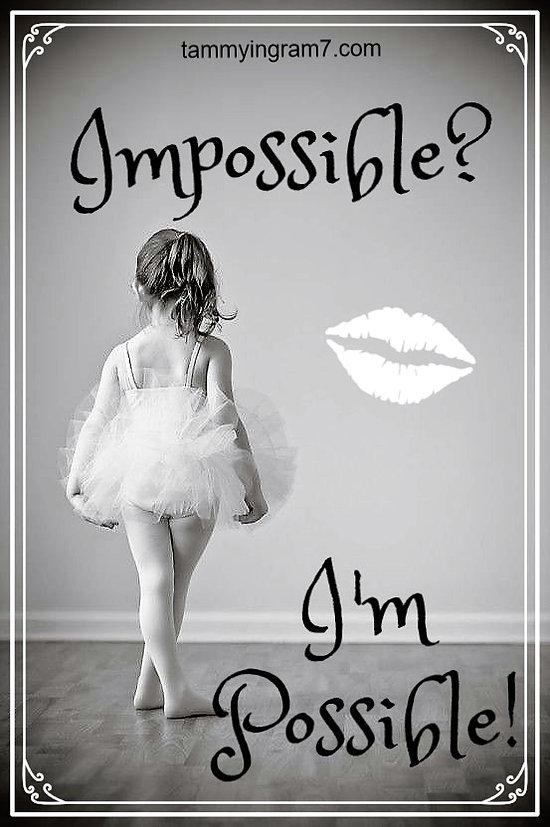 Blameless I Am Possible