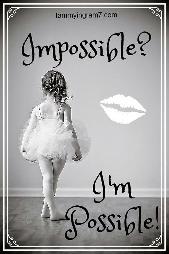 Blameless I Am Possible