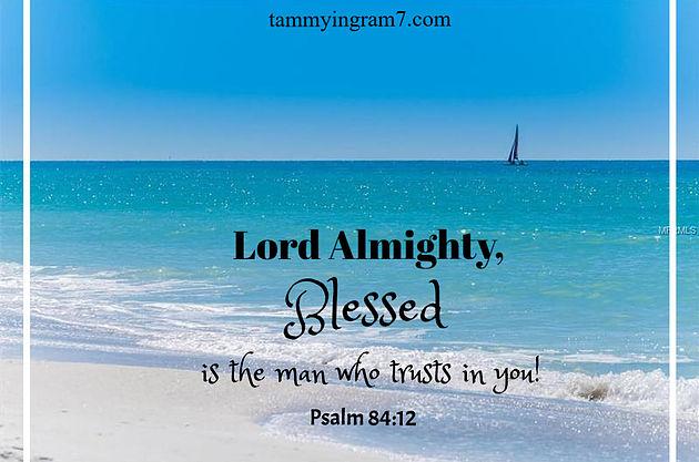Blameless Psalm 84.12