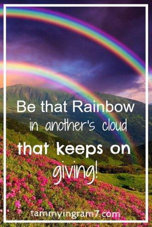 Blameless Rainbow That Keeps Giving