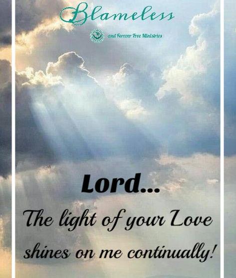 Blameless Light Of Your Love