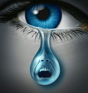 Blameless Blue Eyes Tears