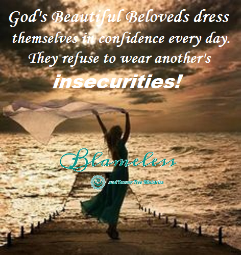 Blameless Dressed In Confidence