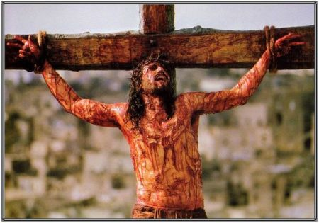 Blameless Jesus on Cross