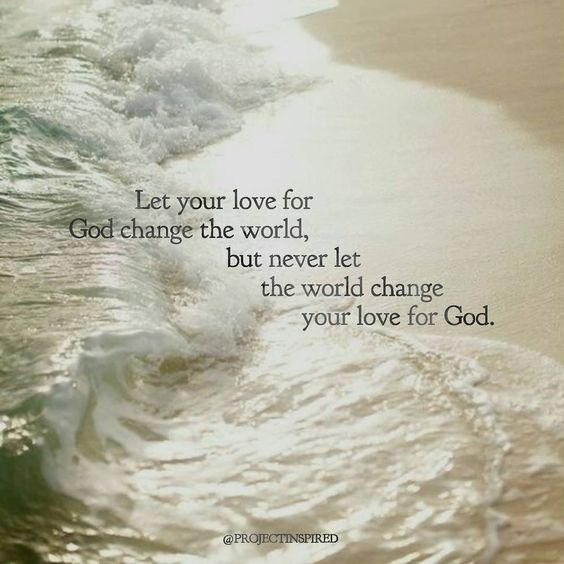 Blameless Love The World With God's Love