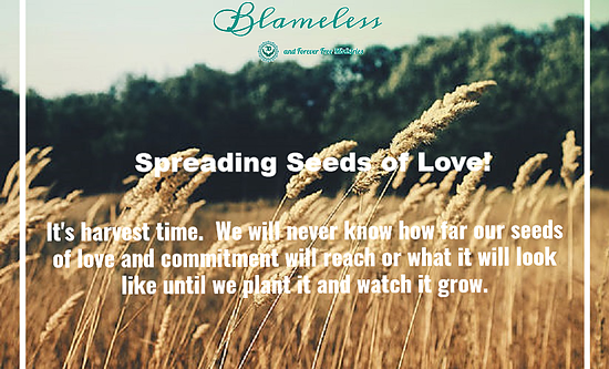 Blameless Spreading Seeds of Love 3