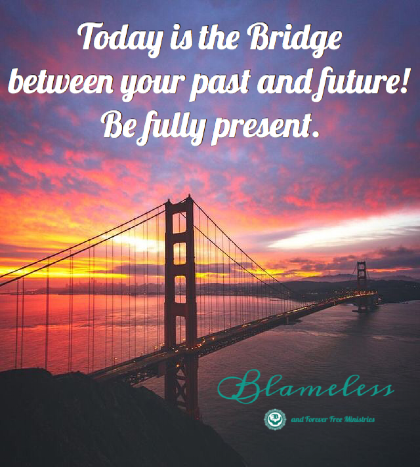 Blameless Bridge Between Past and Future