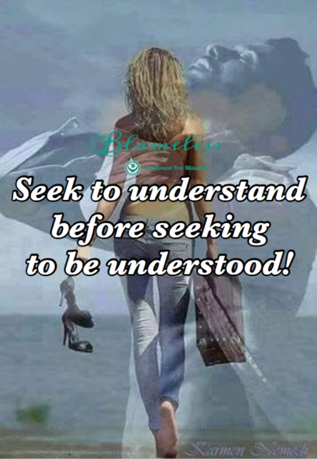 Blameless Seek To Understand