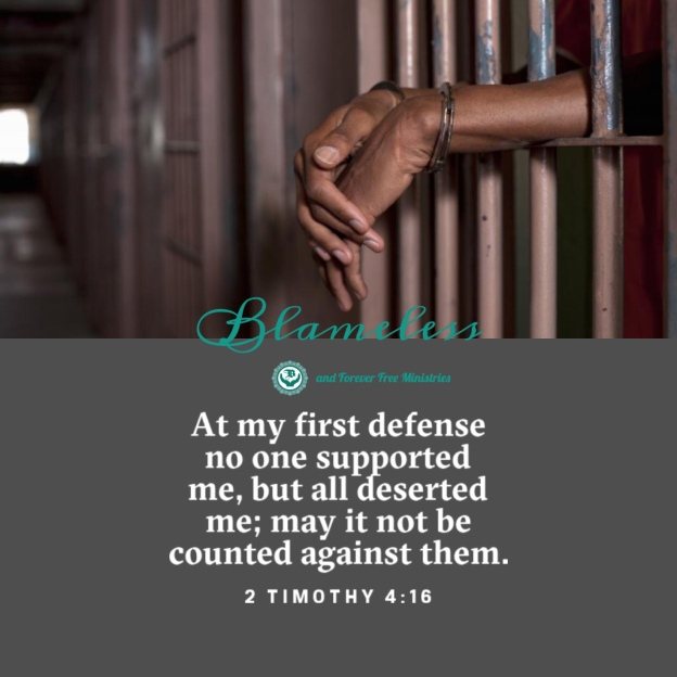 Blameless and Forever Free Ministries 2 Tim. 4:16