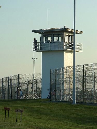 Blameless State Prison Grounds