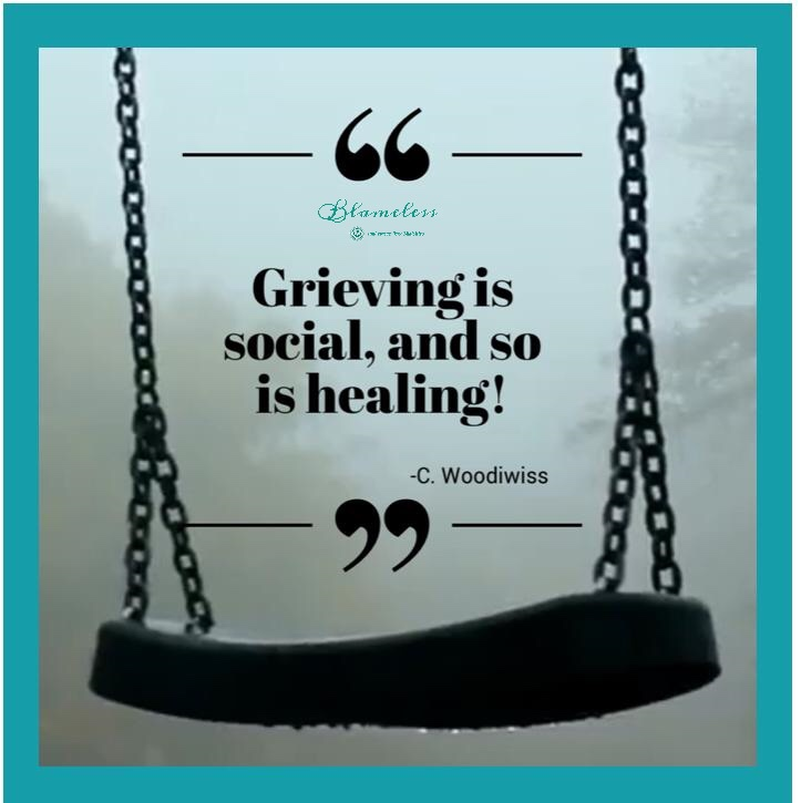 Blameless and Forever Free Ministries along with Chaplain Tammy understands that grieving is social, and so is healing!